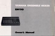 雅马哈EM-150英文说明书