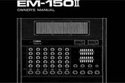 雅马哈EM-150I英文说明书
