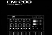 雅马哈EM-200英文说明书