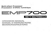 雅马哈EMP700英文说明书