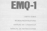 雅马哈EMQ-1英文说明书