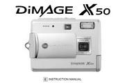 柯尼卡美能达 DiMAGE X50数码相机说明书