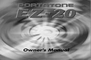 雅马哈EZ-20英文说明书