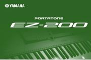 雅马哈EZ-200英文说明书