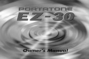 雅马哈E EZ-30英文说明书