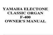 雅马哈F-400英文说明书