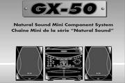 雅马哈GX-50RDS英文说明书