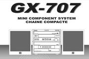 雅马哈GX-707英文说明书