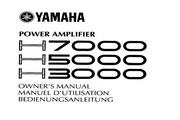 雅马哈H7000英文说明书