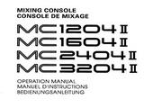 雅马哈MC1204I英文说明书