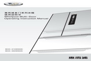 惠而浦 BCD-350WE6SI冰箱 使用说明书