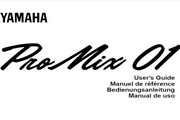 雅马哈Programmable Mixer 01说明书