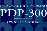 雅马哈PDP-300说明书