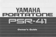 雅马哈PSR-41说明书
