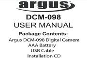 Argus DCM-098数码相机说明书