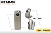 Argus DC1540数码相机说明书