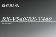 雅马哈RX-V440说明书