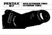 宾得6x7 Auto Extension Tubes说明书