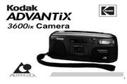 柯达ADVANTIX 3600ix数码相机英文说明书