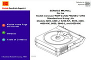 柯达CAROUSEL Slide Projector Service Manual 数码相机说明书