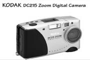 柯达DC215数码相机说明书