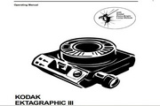 柯达EKTAGRAPHIC Slide Projector Users Manual数码照相机