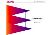 APC AP9207 Share-UPS用户手册说明书