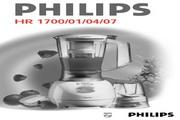 飞利浦 搅拌机HR1707型 英文说明书