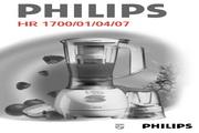 飞利浦 搅拌机HR1700型 英文说明书