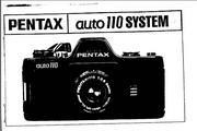 宾得Auto 110 Lenses数码相机英文说明书