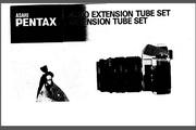 宾得Auto Extension Tube Set数码相机英文说明书