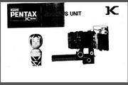 宾得Bellows Unit数码相机英文说明书