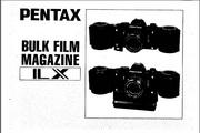 宾得Bulk Film Magazine LX数码相机英文说明书