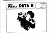 宾得Data 2数码相机英文说明书
