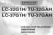 声宝LC-32G100H型液晶电视机说明书