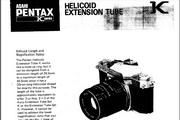宾得Helicoid Extension Tube数码相机英文说明书