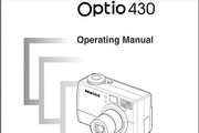 宾得Optio 430相机英文说明书