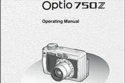 宾得Optio 750Z相机英文说明书