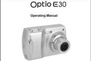宾得Optio E30 Manual相机英文说明书