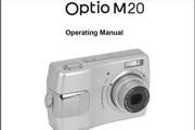 宾得Optio M20 Manual 相机英文说明书
