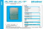 海尔 BCD-237DVC电冰箱 使用说明书