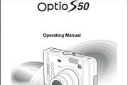 宾得Optio S50相机英文说明书