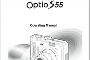 宾得Optio S55相机英文说明书