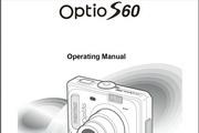 宾得Optio S60 Manual相机英文说明书