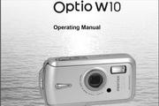 宾得Optio W10 Manual相机英文说明书