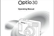 宾得Optio30相机英文说明书
