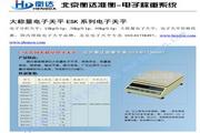衡达ES50Kx1电子天平使用说明书