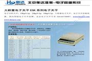 衡达ES20K-15电子天平使用说明书
