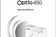 宾得Optio450相机英文说明书