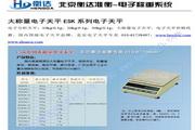 衡达ES20K-1电子天平使用说明书